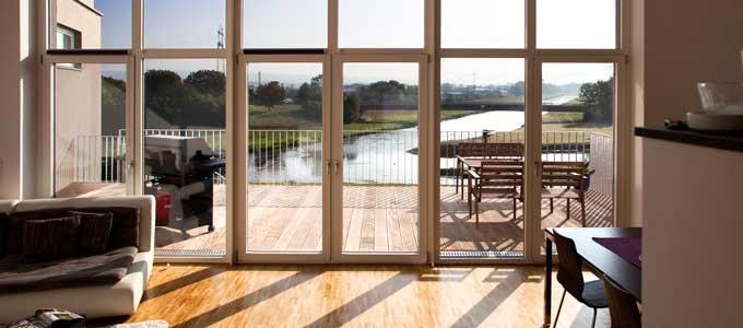 Holzfenster Modern